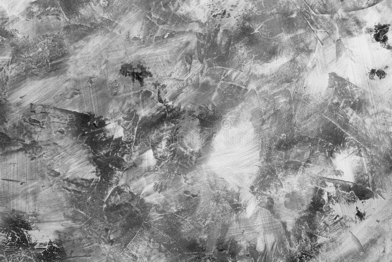 Plaster background in dark color stock image