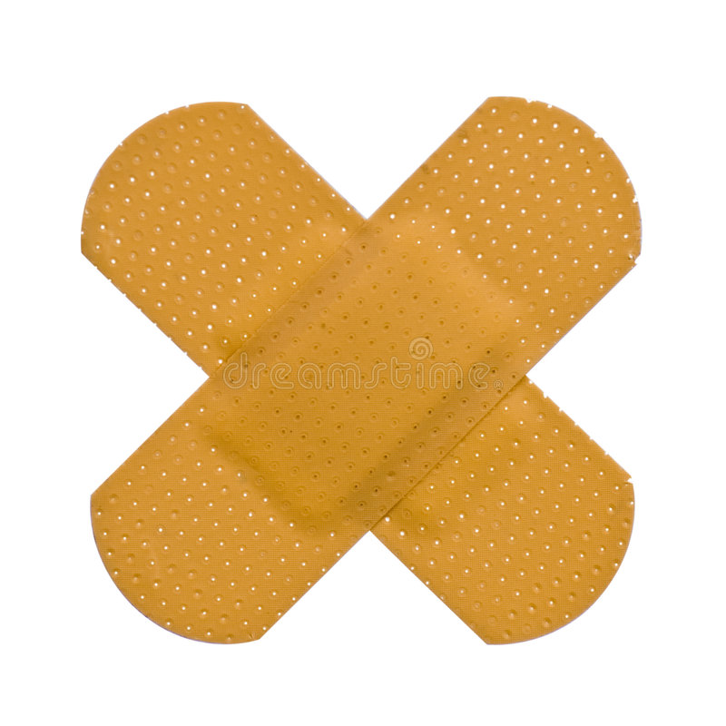Plaster bandaid stock images