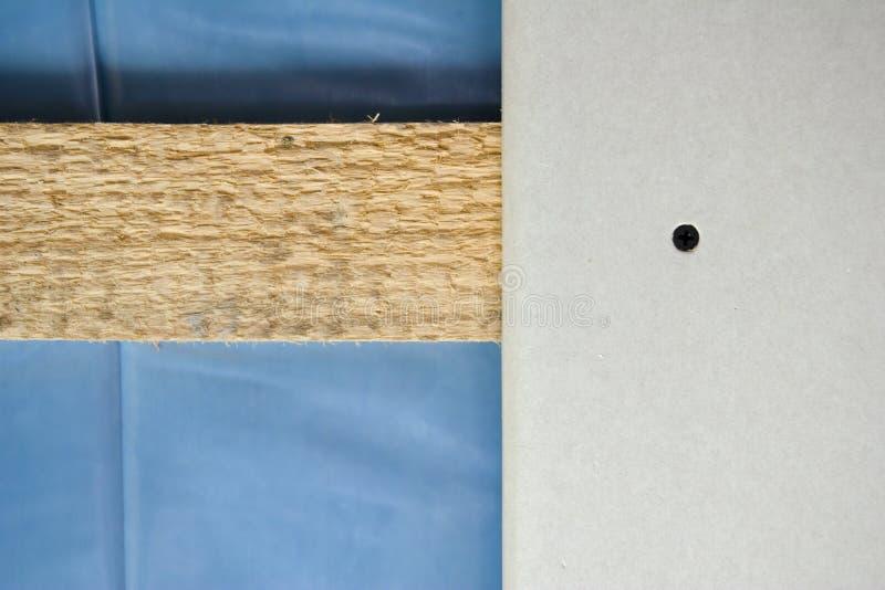 Plaster board stock photo