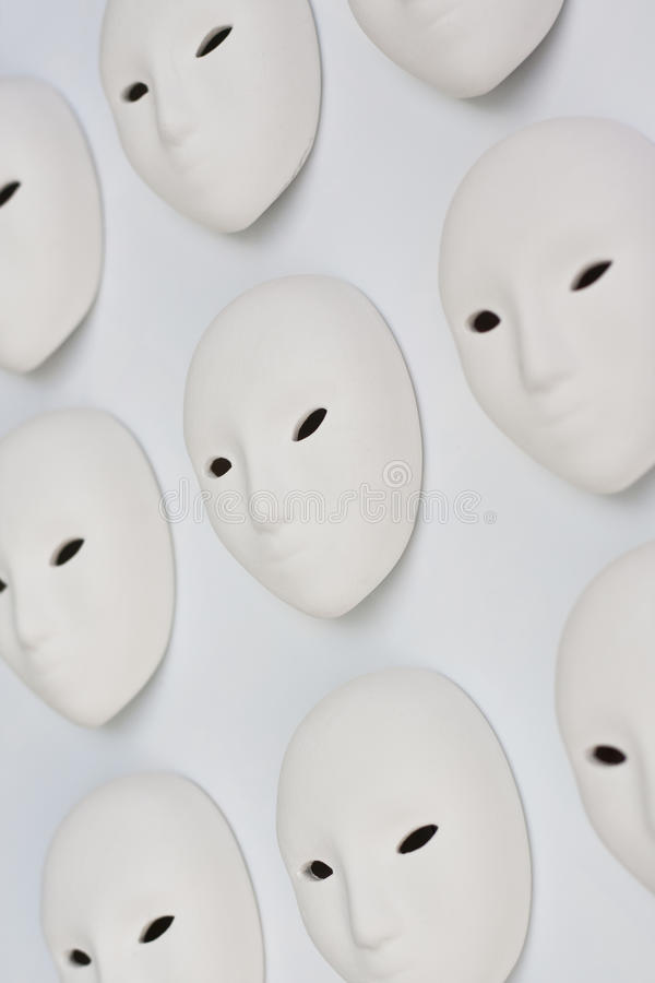 Download Plaster mask in studio stock photo. Image of black, masquerade - 24865676