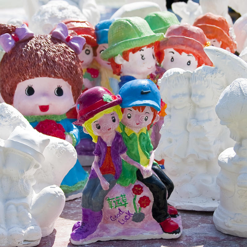 Download Plaster statues stock photo. Image of coloring, white - 13172776