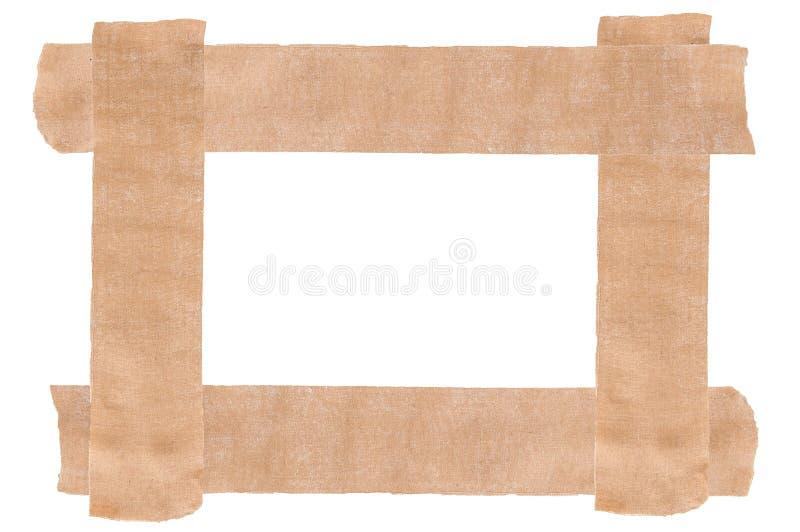 Plaster tape frame stock images