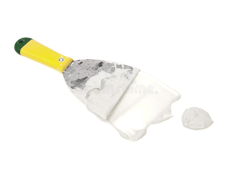 Download Plaster trowel stock image. Image of builder, construction - 11483081