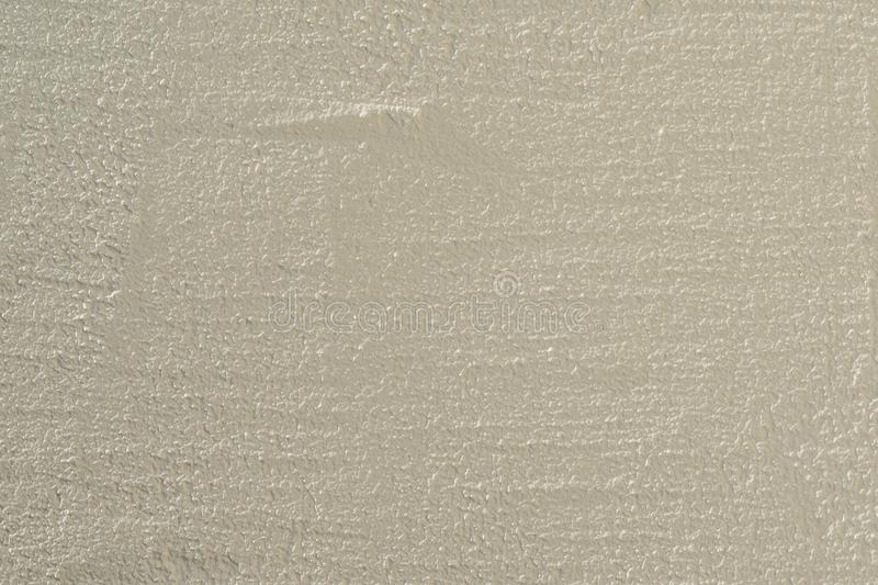 Plaster Wall Background. White Cement Plaster Wall Texture. Clear Blank Background stock photography