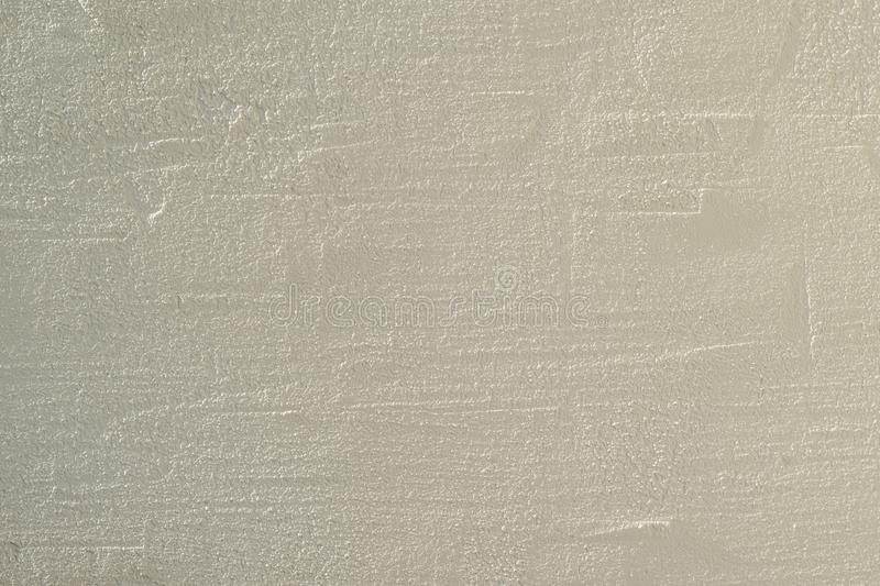 Plaster Wall Background. White Cement Plaster Wall Texture. Clear Blank Background royalty free stock photo
