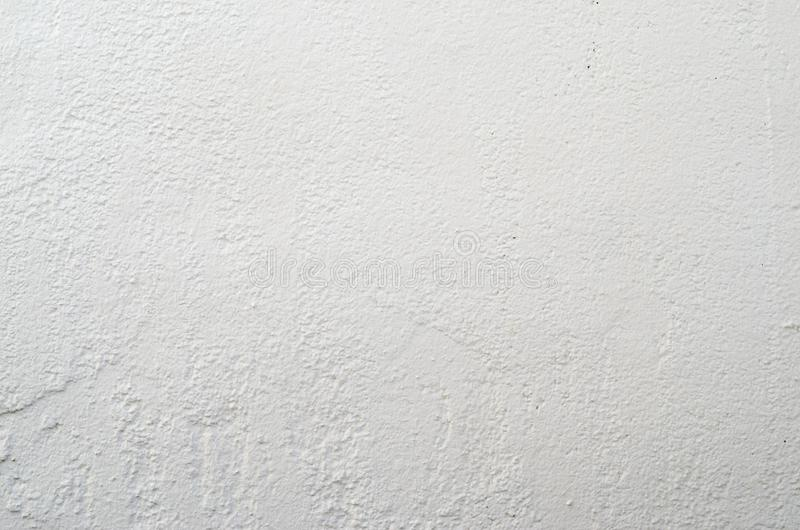 Plaster Wall Background. White Cement Plaster Wall Texture. Clear Blank Background royalty free stock images