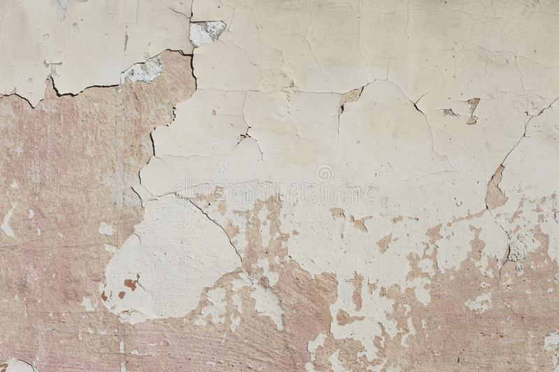 Plaster Wall Texture. Aged cement wall texture royalty free stock photo