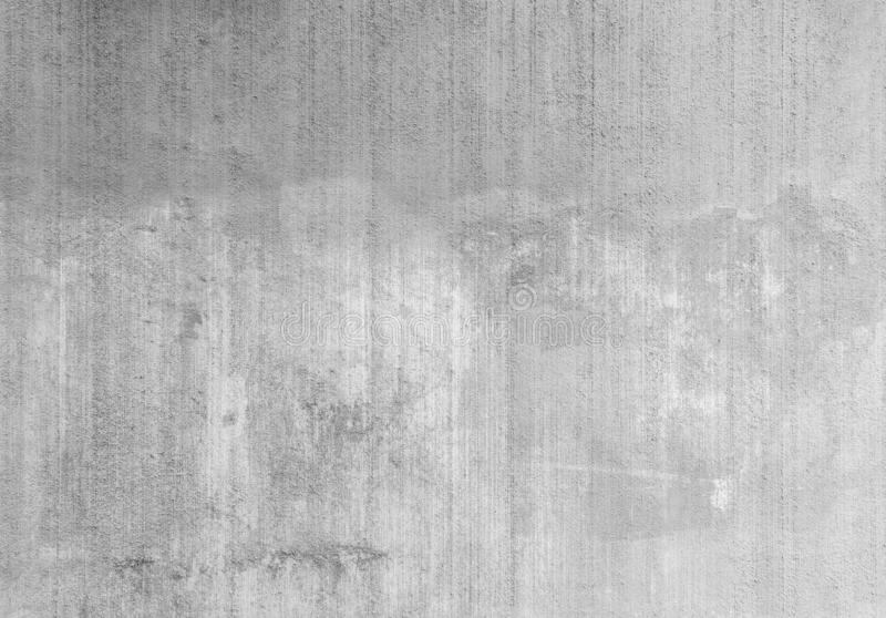 Plastered, painted and faded grey wall background royalty free stock photography