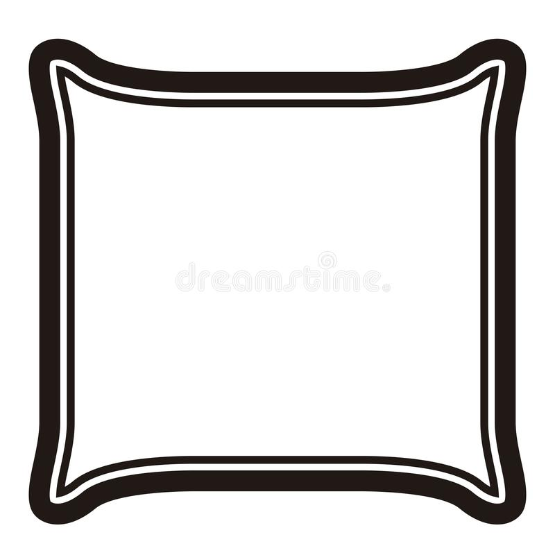 Plasterek chleb ikona ilustracja wektor