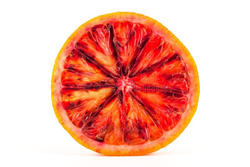 Plasterek czerwona krwionośna pomarańcze zdjęcia royalty free