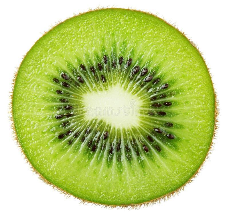 Plasterek odizolowywający na bielu kiwi owoc zdjęcie royalty free