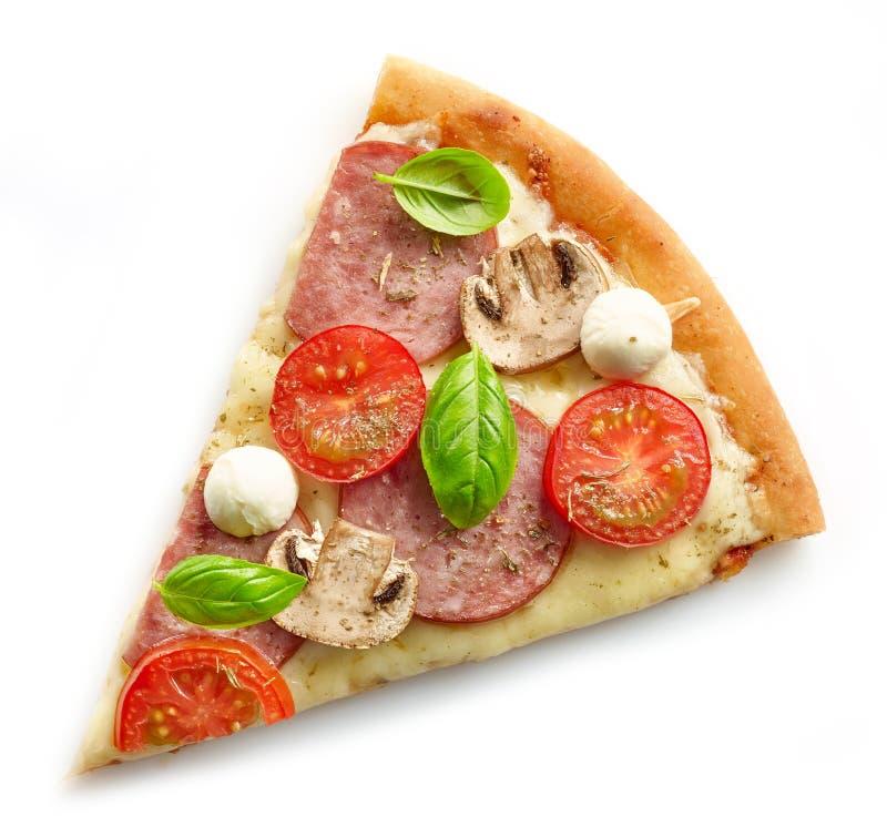 Plasterek pizza obraz royalty free