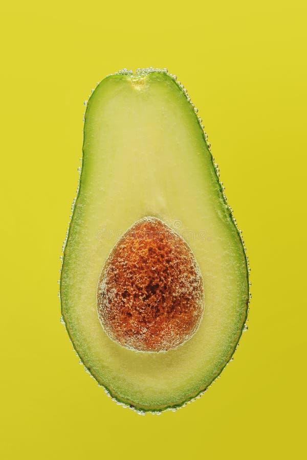 Plasterka avocado w bąblach obrazy royalty free