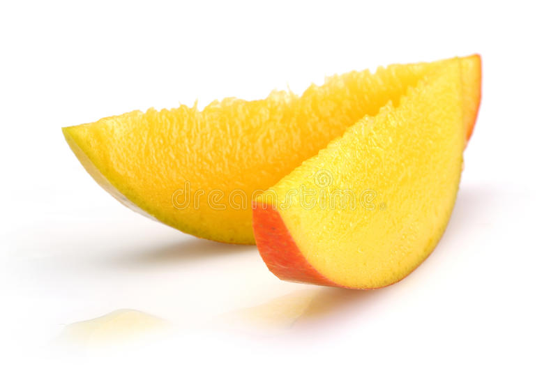 Plasterka mango obraz stock