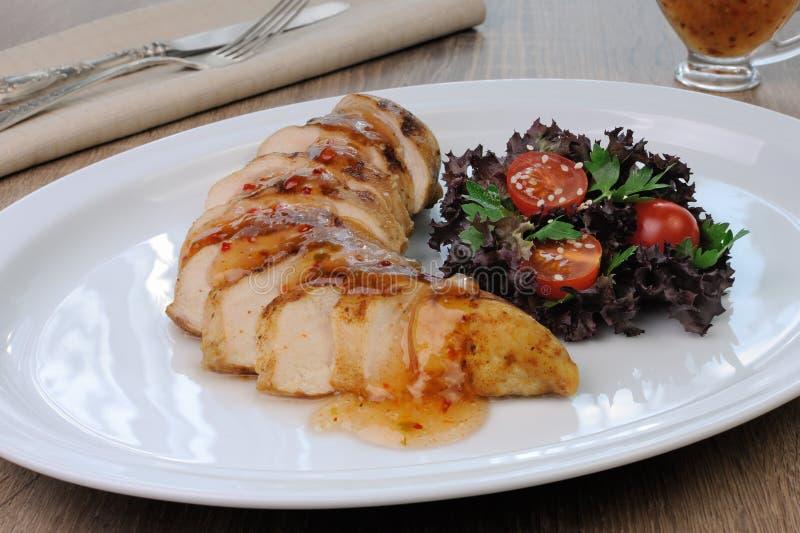 Download Plasterki Polędwicowi Z Kumberlandem Kurczak Obraz Stock - Obraz złożonej z lunch, jedzenia: 57664719