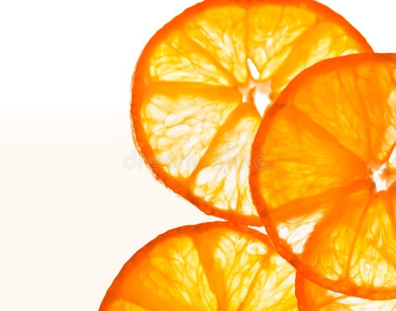 plasterki pomarańczowe obrazy stock