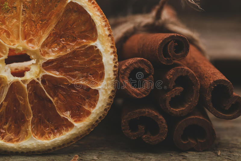 plasterki pomarańczowe fotografia royalty free