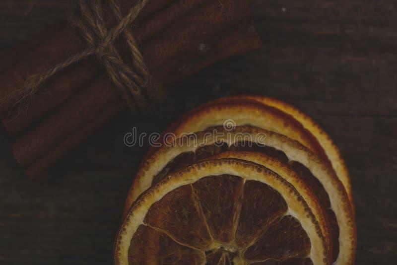 plasterki pomarańczowe obraz royalty free