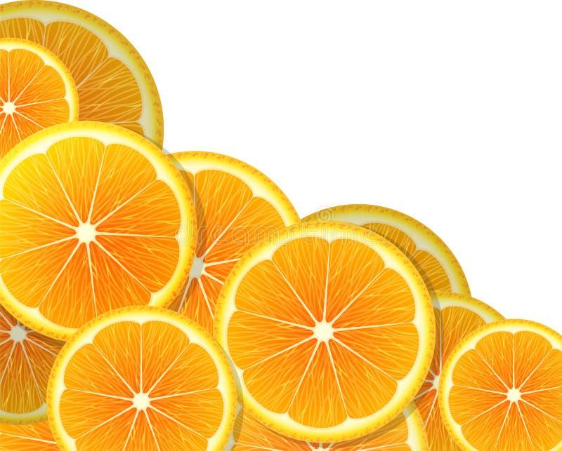 Download Plasterki pomarańczowe ilustracja wektor. Ilustracja złożonej z okrąg - 42525009