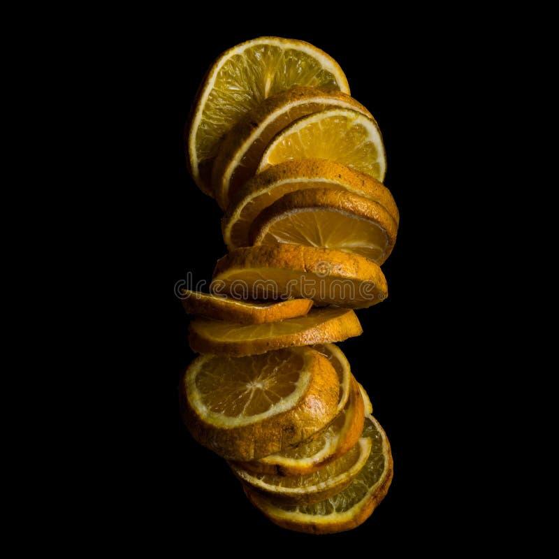 plasterki pomara?czowe zdjęcia stock