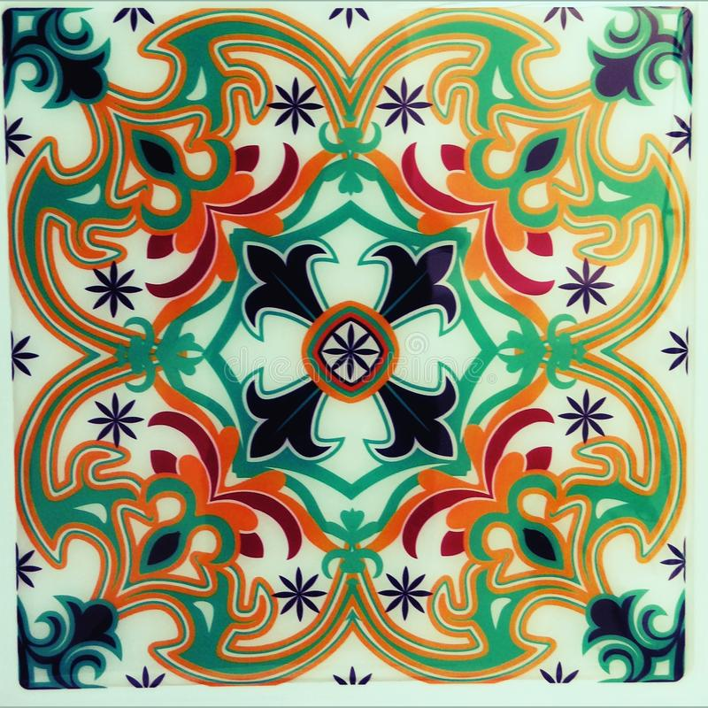 Plastic abstracte uitstekende kleur stock fotografie