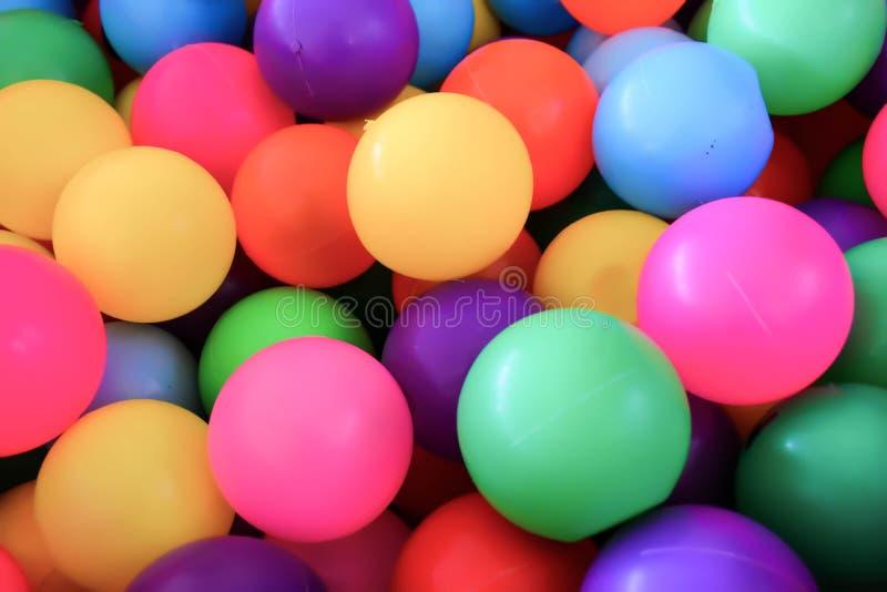 Plastic bal royalty-vrije stock fotografie