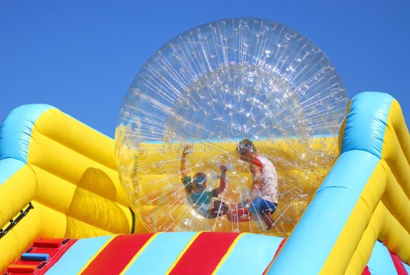 Plastic Bal royalty-vrije stock afbeeldingen