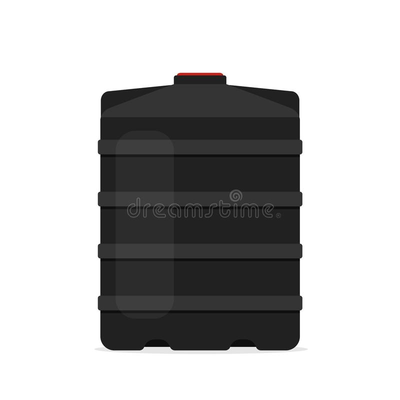 plastic black water tank icon stock vector illustration of reserve sewage 107019910 plastic black water tank icon stock