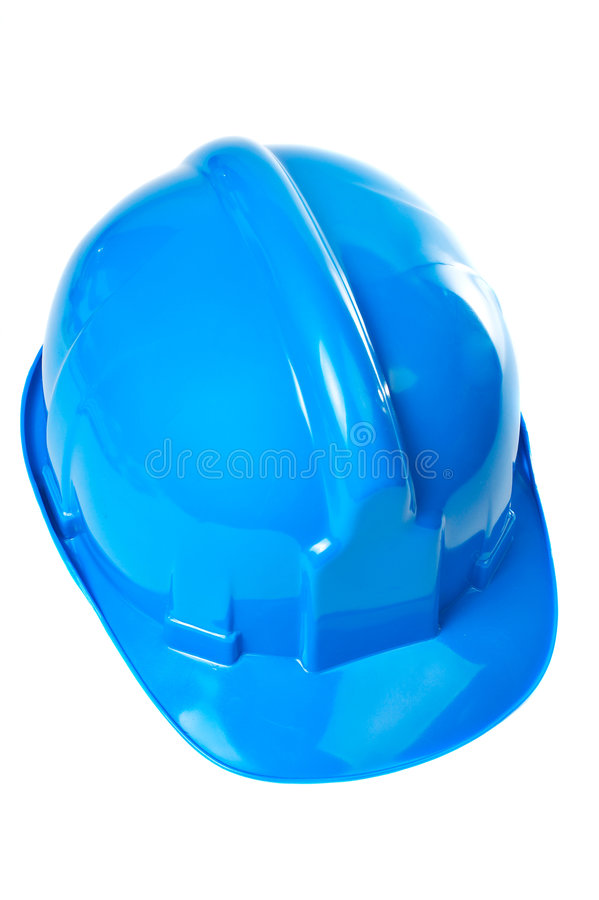 Download Plastic blue hard hat stock image. Image of equipment - 2013231