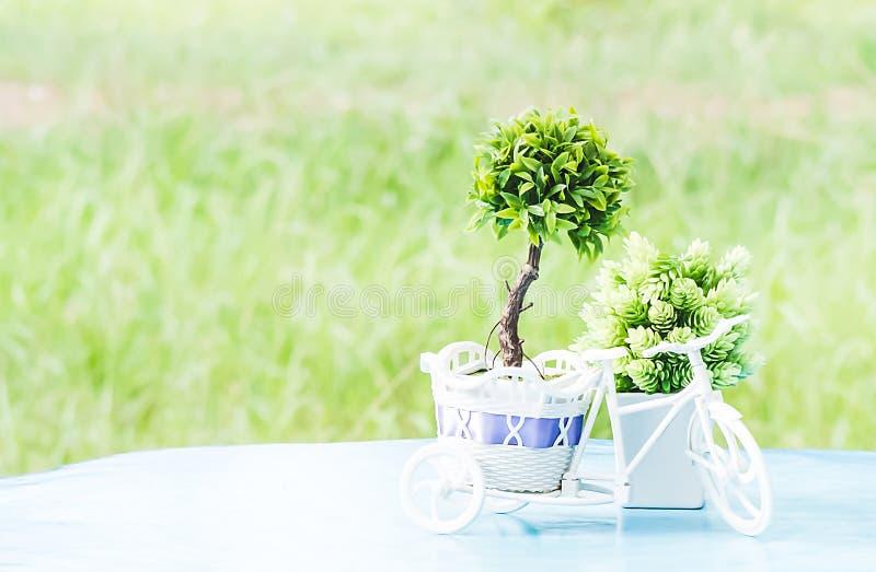 Plastic Bomen royalty-vrije stock foto's