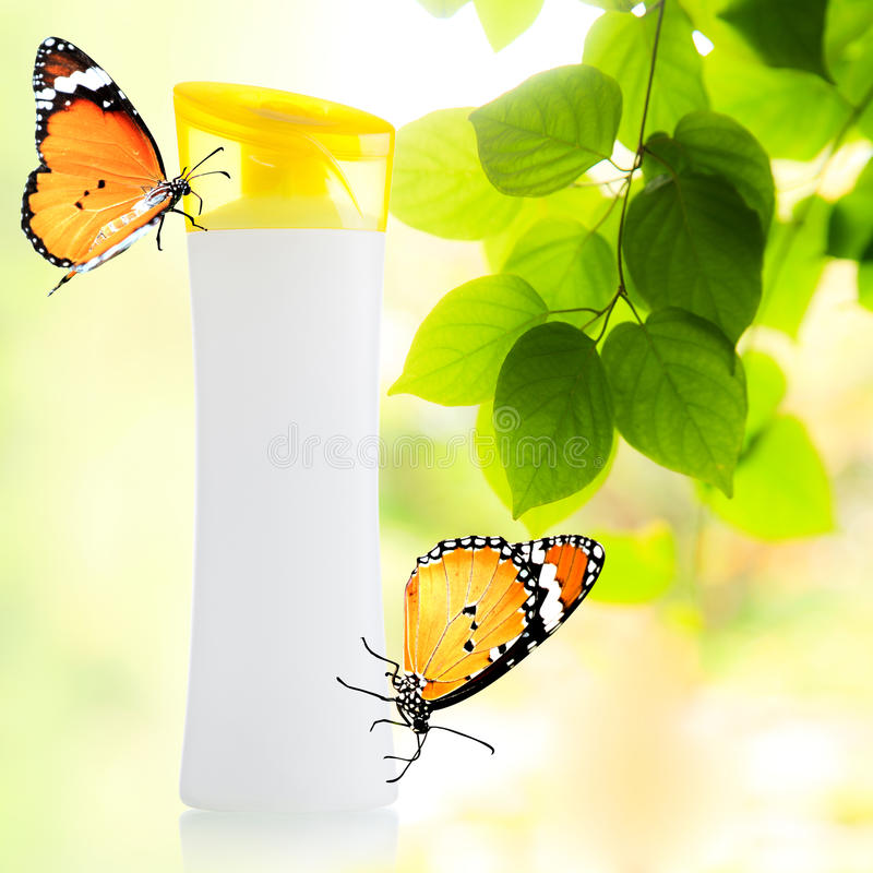 Download Plastic Bottle And Butterfly Stock Photo - Image: 35937830