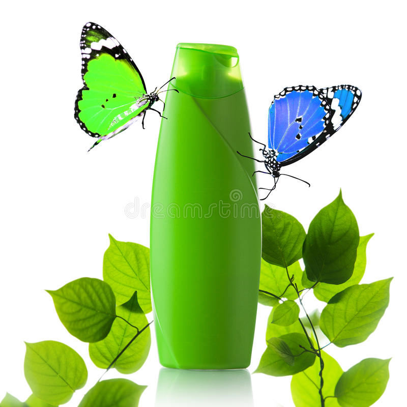 Download Plastic Bottle And Butterfly Stock Image - Image: 35937897