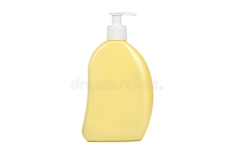 Plastic bottle with dispenser stock photography