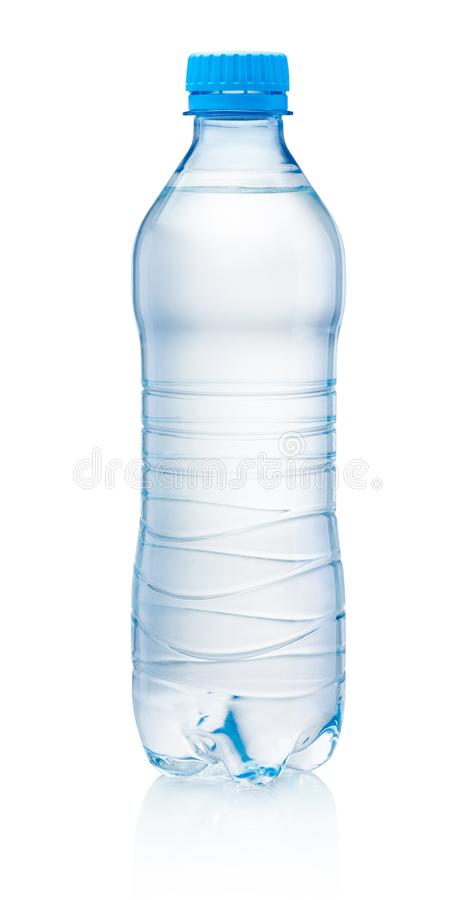 Download Plastic Bottle Of Drinking Water Isolated On White Background Stock Photo - Image of curve, disposable: 100705990