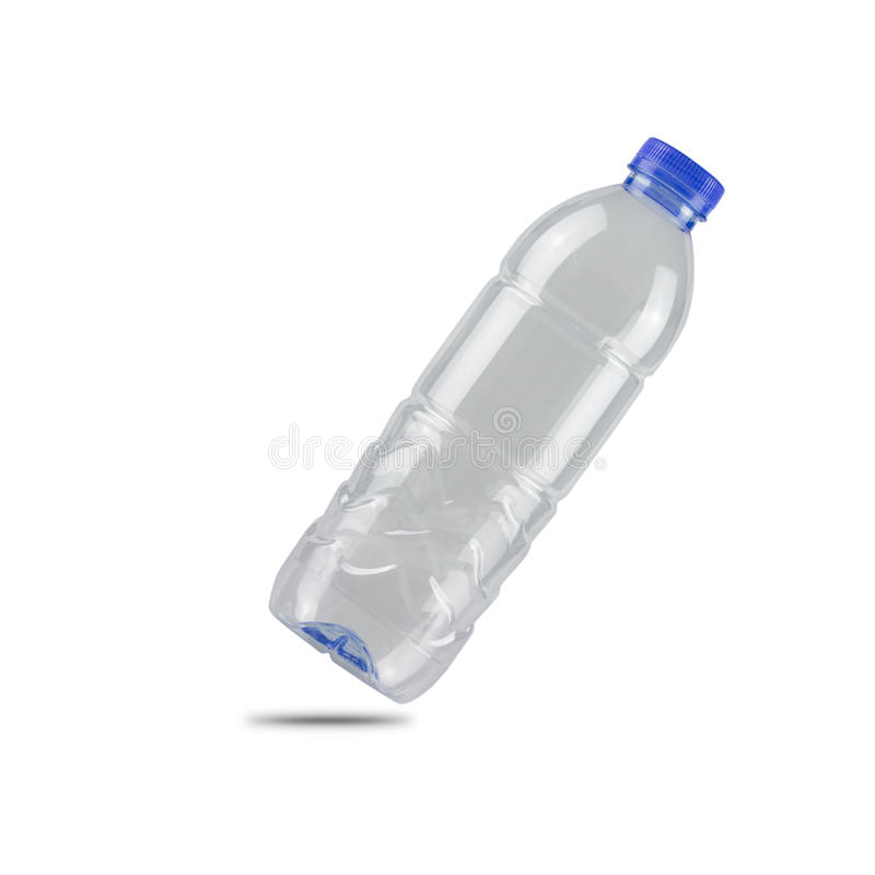 Download Plastic Bottle Isolated On White Background. Stock Photo - Image: 83709627