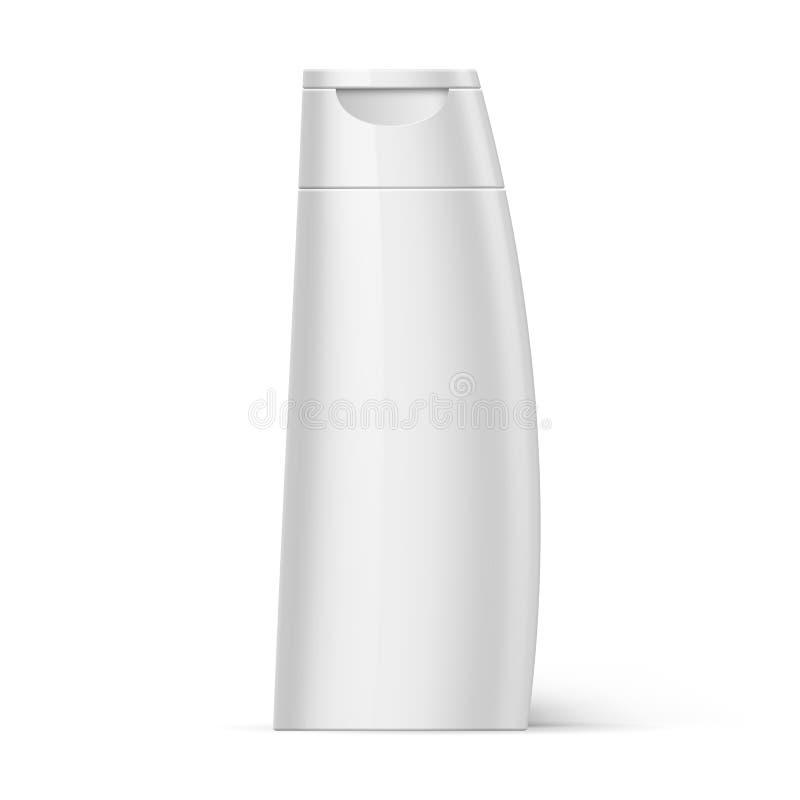Plastic Bottle Shampoo Packaging royalty free illustration