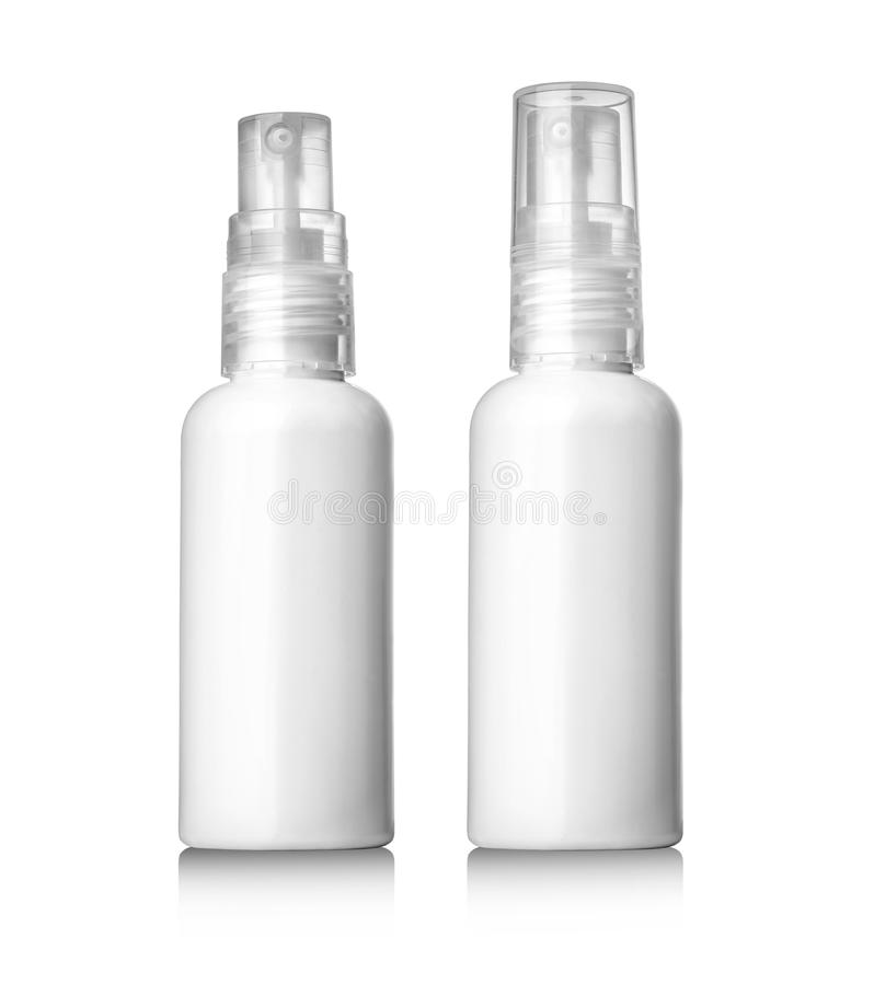Plastic Bottle White stock photo