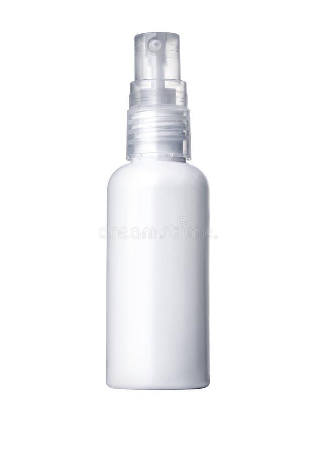 Plastic Bottle White royalty free stock photo