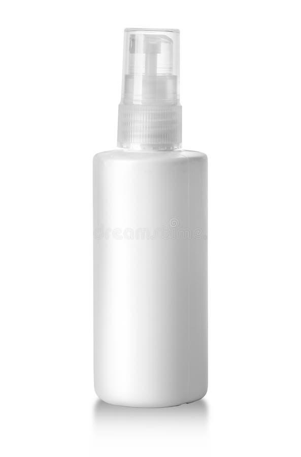Plastic Bottle White royalty free stock image