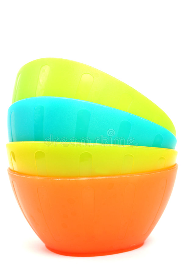 Download Plastic Bowls Stock Photo - Image: 4529740