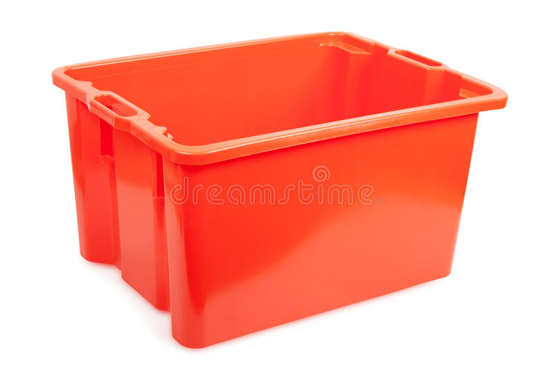 Plastic box royalty free stock photography