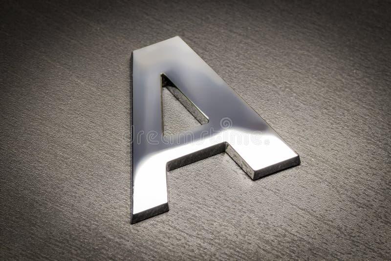 Plastic brievena close-up royalty-vrije stock afbeeldingen