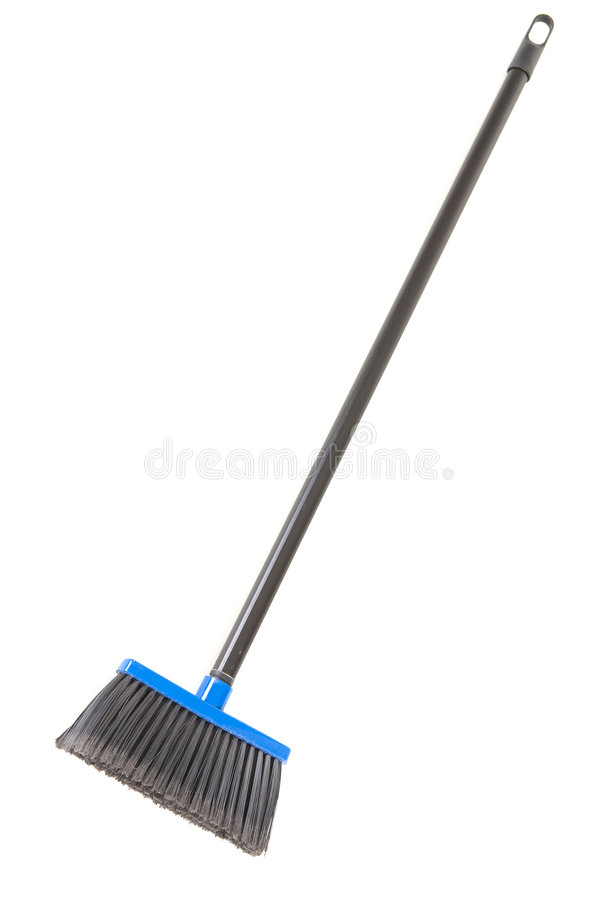 Download Plastic broom stock photo. Image of brush, white, sweep - 4986788