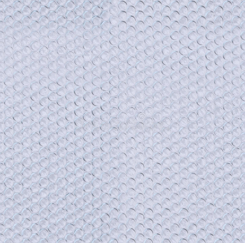 Plastic bubble wrap tiled texture stock photos
