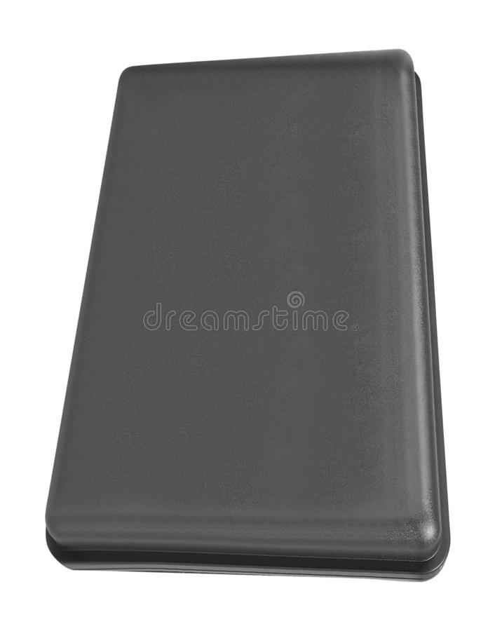 Plastic case isolated stock images