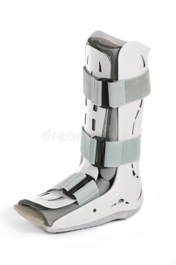 Plastic Cast Boot royalty free stock photography
