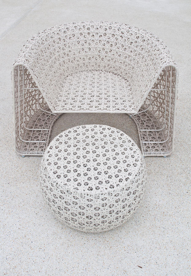Download Plastic Chair And Table Weave Stock Photo - Image: 22644880