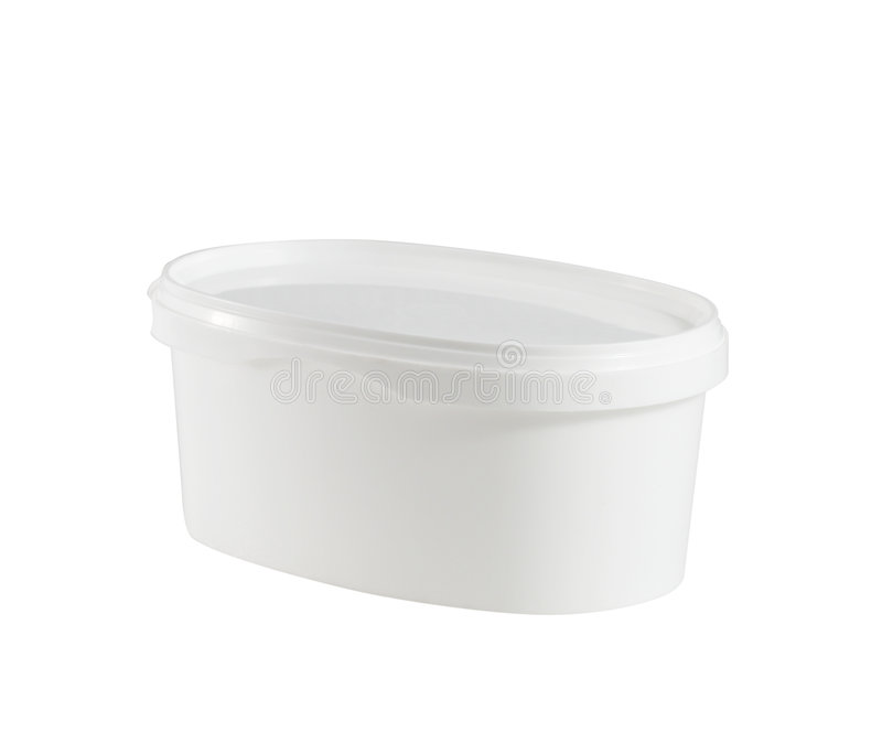 Plastic container royalty free stock photos