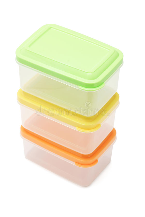 Download Plastic containers stock image. Image of white, container - 12397549
