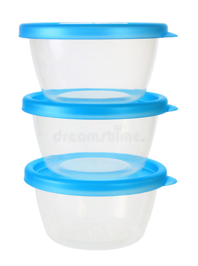 Plastic Containers stock foto